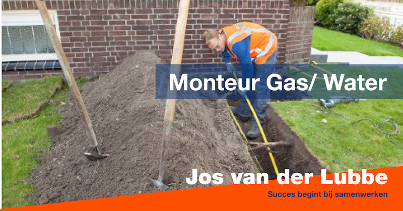 Monteur Gas/ Water
